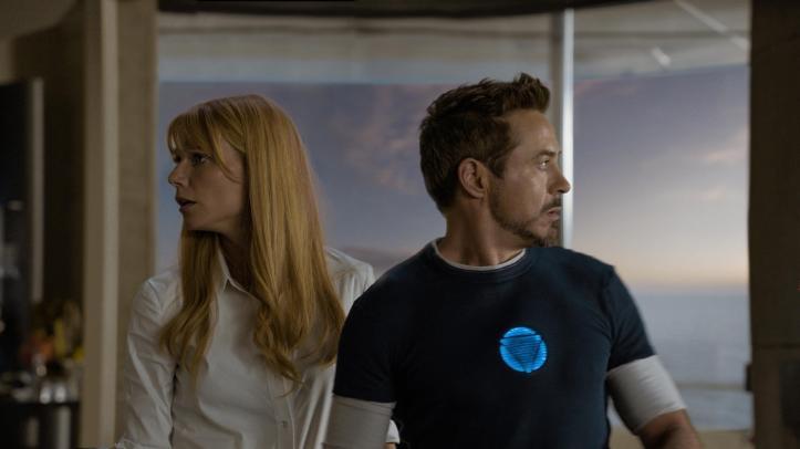 Iron Man 3 Tony and Pepper