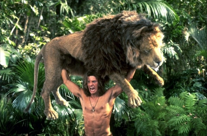 George_of_the_Jungle_lifting_a_Lion
