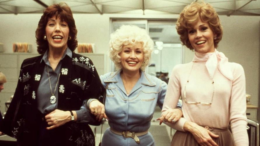 NINE TO FIVE, (aka 9 TO 5), Lily Tomlin, Dolly Parton, Jane Fonda, 1980. TM and Copyright © 20th Cen