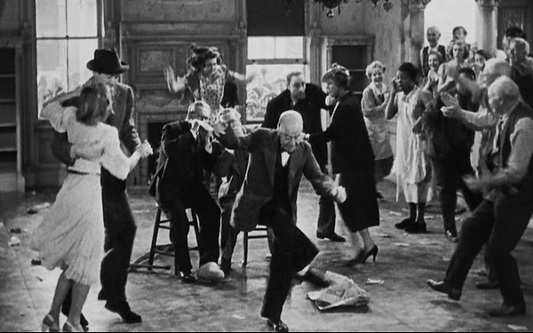 you-cant-take-it-with-you-1938-finale-lionel-barrymore-james-stewart-edward-arnold-review-dancing-harmonica-best-picture-academy-award-winner